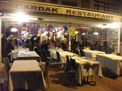 Burgazada Çardak Restoran yılbaşı