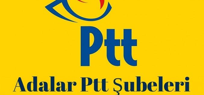 Adalar PTT Şubeleri İletişim Bilgileri