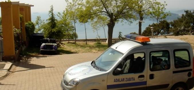 Kınalıada'da Akülü Araçlar Toplatıldı!