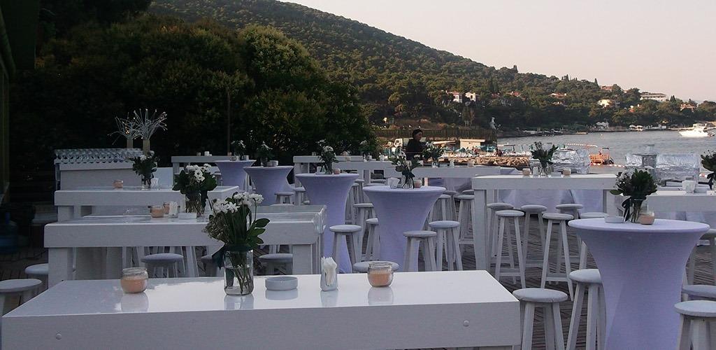 Büyükada Aya Nikola Hotel düğün