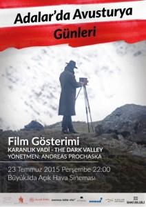 Adalar'da Avusturya Günleri film gösterimi