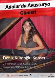 Adalar'da Avusturya Günleri  Deniz Kurdoğlu konseri