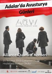 Adalar'da Avusturya Günleri  Alliance Quartett Konseri