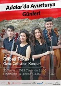 Adalar'da Avusturya Günleri  Dilbağ Tokay konseri