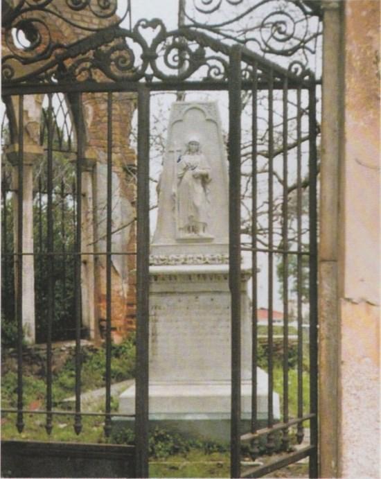 Süslü mezar olarak bilinen Kangelaris Ailesi Anıt mezarı