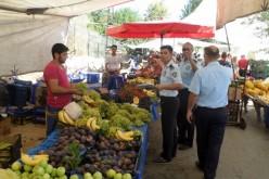 Adalar Zabıtası ve Polisi Pazar Yerlerini Denetlemeye Başladı
