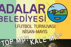 1. Adalar'da Futbol Turnuvası İçin Geri Sayım Başladı!