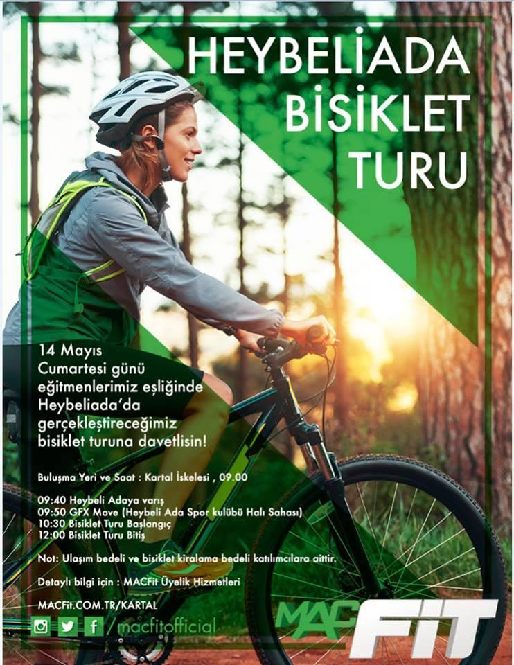 Heybeliada macfit bisiklet turu