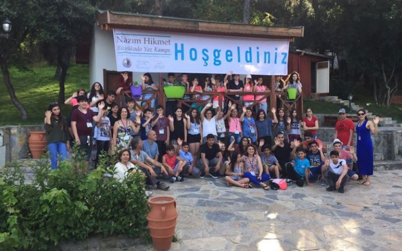 Çocuklar Nazım Hikmet Büyükada Yaz Kampı'nda Buluştu