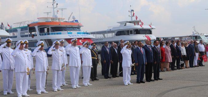 30 Ağustos Zafer Bayramı Adalar'da Coşkuyla Kutlanıyor