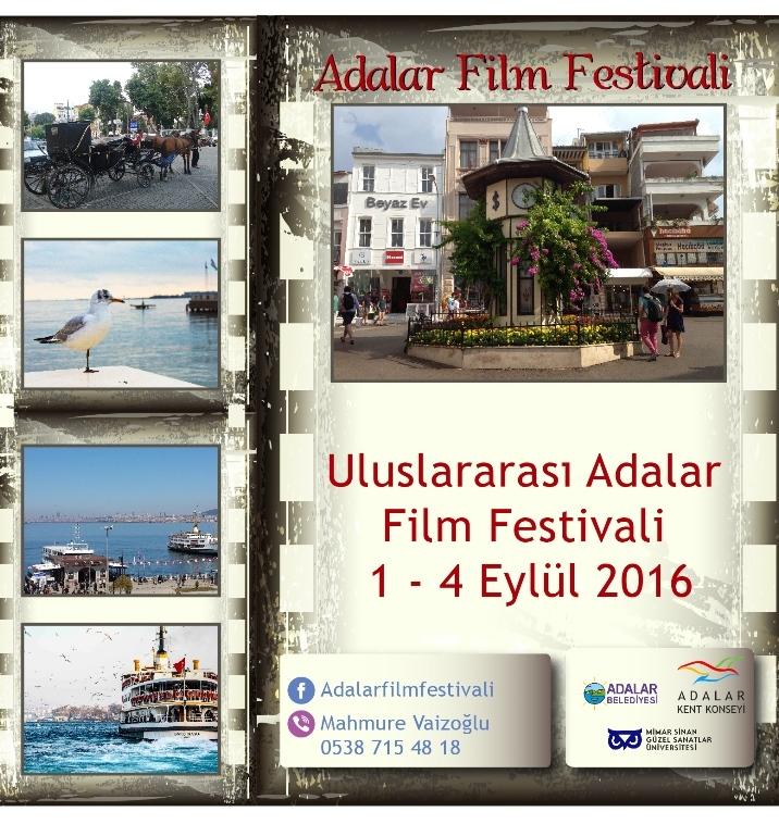 Adalar Film Festivali Afiş