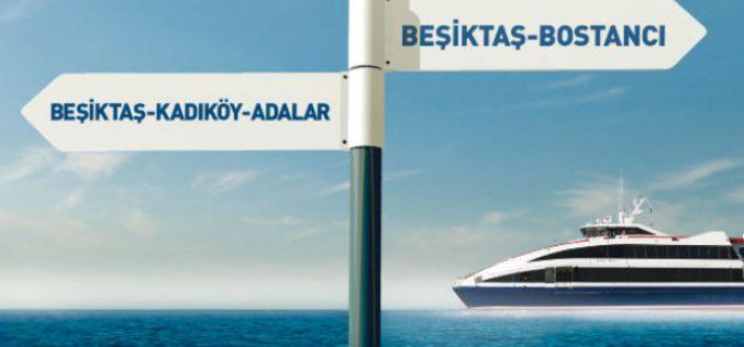 İDO Beşiktaş Adalar Seferleri