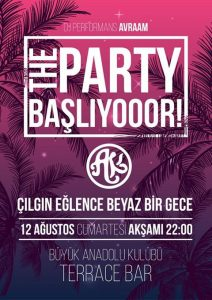 Büyükada Anadolu Kulübü Parti