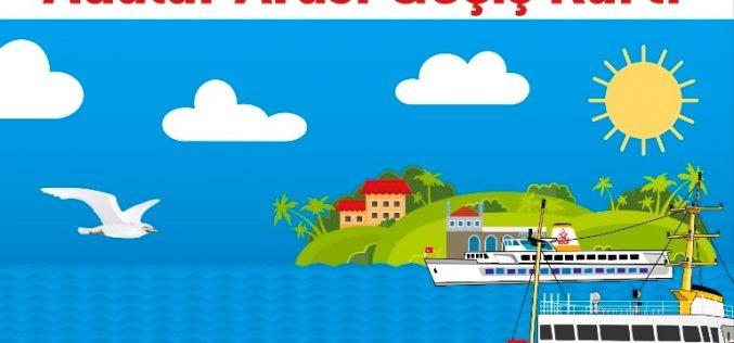 Adalar Arası Ücretsiz Seyahat Kartı