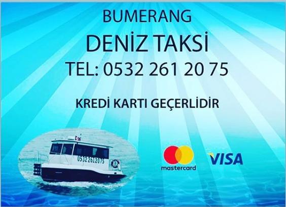 Kınalıada deniz taksi