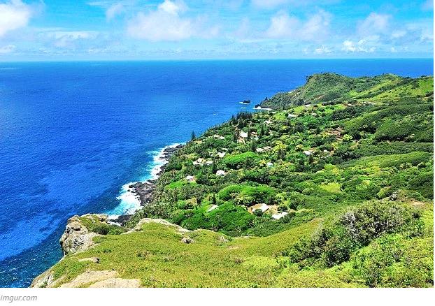 Issız adalarda yaşam Pitcairn Adaları