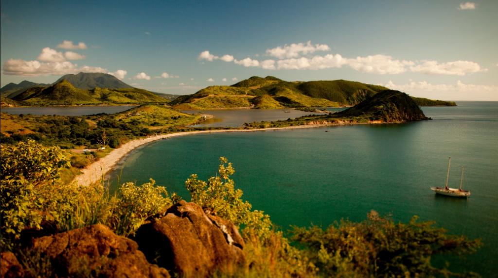 Issız Adalar Saint Kitts ve Nevis Adası