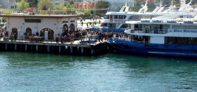 Mavi Marmara Adalar Seferleri Yaz Tarifesi 2019