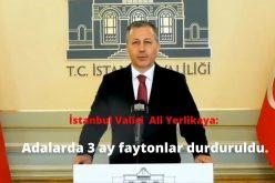 İstanbul Valisi Ali Yerlikaya Adalarda Ruam Açıklaması