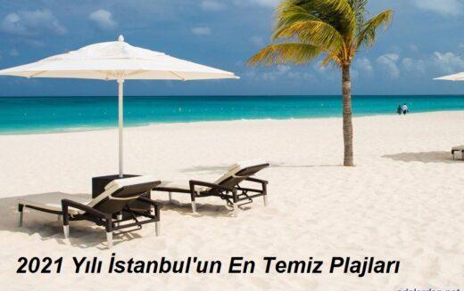 İstanbul'un En Temiz Plajları 2021
